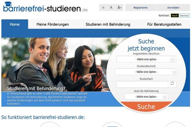 Barrierefrei Studieren