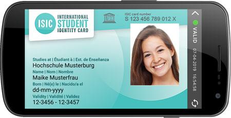 ISIC – virtueller Studentenausweis