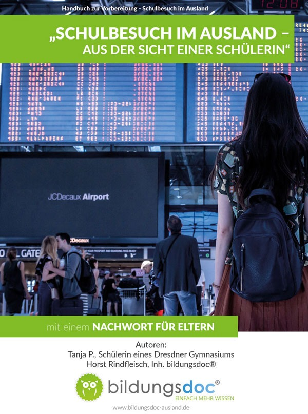 eBook: Schulbesuch im Ausland - Aus der Sicht einer Schülerin